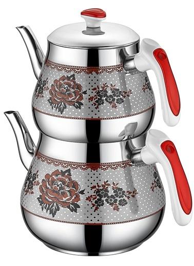 Kristal Mini Desenli Çaydanlık 0,7 Lt-1,2 Lt-Özkent